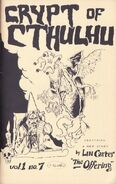 Crypt of Cthulhu August 1982