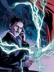 Nyarlathotep, Nikola Tesla (Akiléos)