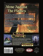 Alone Against the Flames back