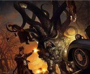 Dark Young of Shub-Niggurath (Michael Komarck)