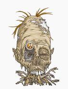 Idol of the headless man