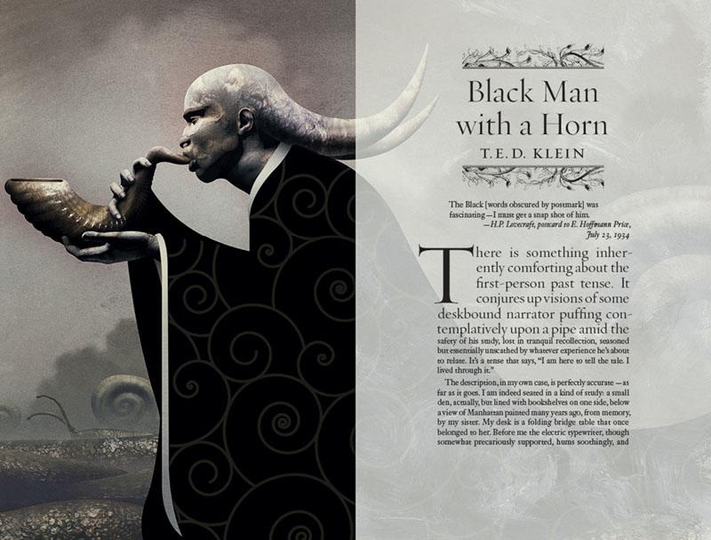 Un negro con un saxofón