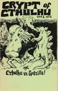 Crypt of Cthulhu December 1981