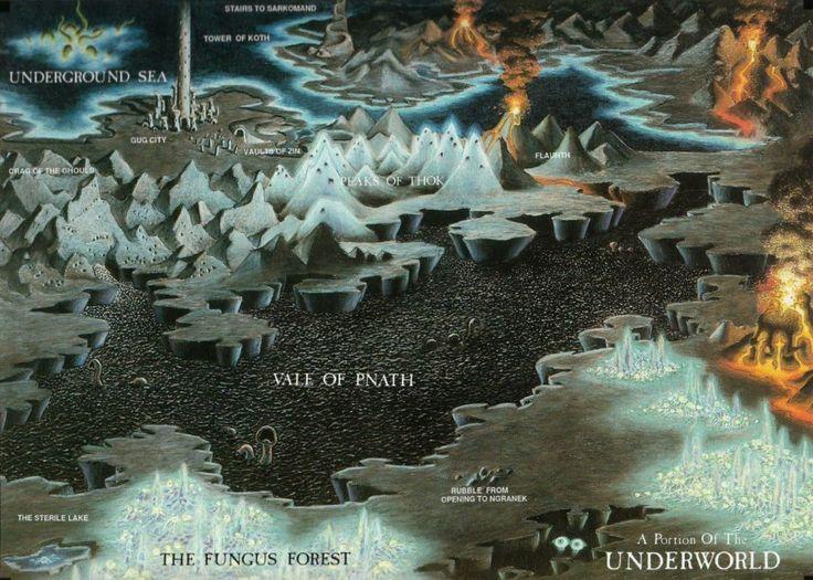 Zonas Inferiores de las Tierras del Sueño