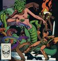 Ishiti the Snake Goddess (child of Set) (Marvel Comics)