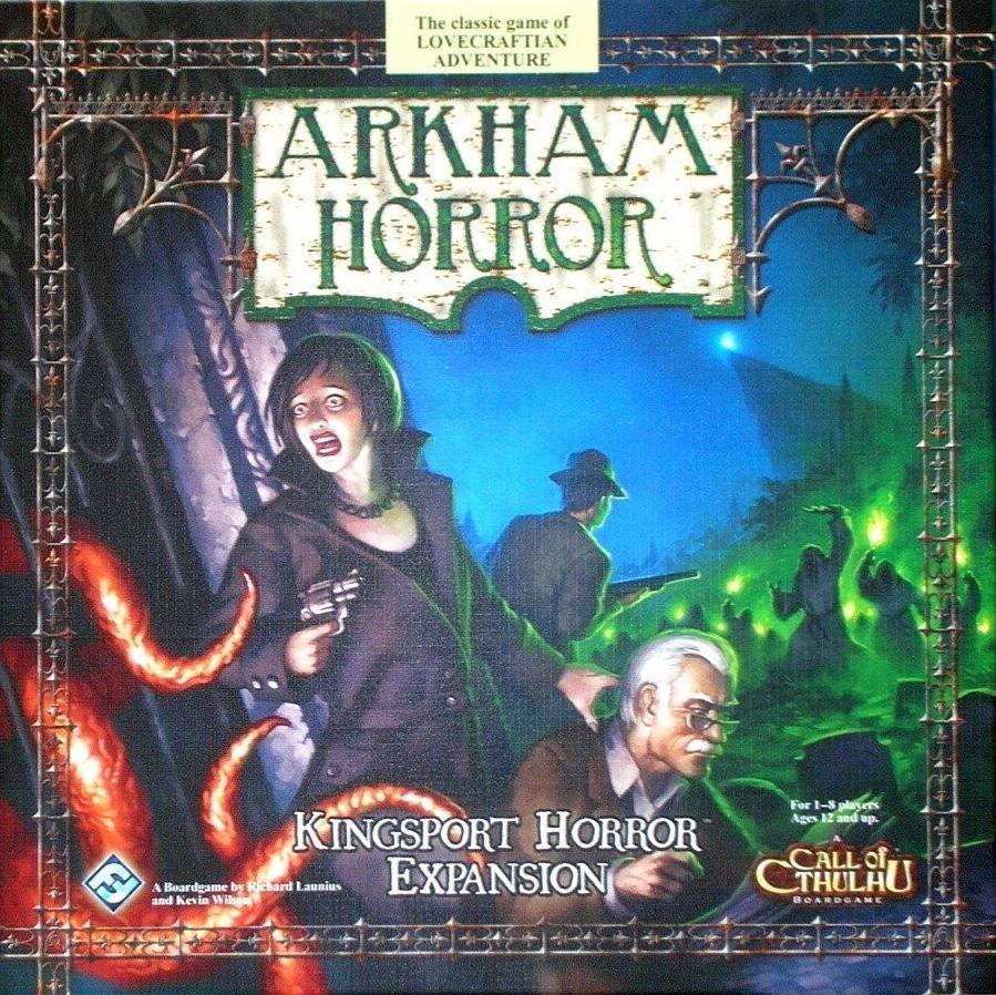 Kingsport Horror Deluxe Expansion (Arkham Horror)