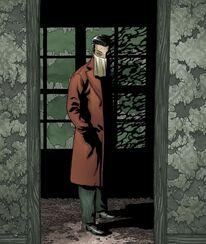 Johnny Carcosa, an avatar of Nyarlathotep (Alan Moore's Providence)