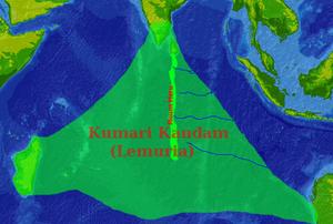 Kumari Kandam map.png