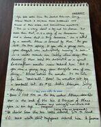 Sundown Handwritten Notes