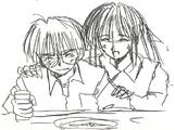 Keitaro and Naru Concept