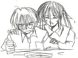 Keitaro and Naru Concept.png