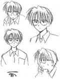 Keitaro Original Faces