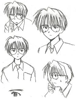 Keitaro Original Faces.png