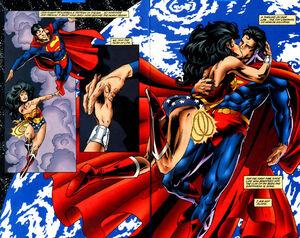 Loves wonder superman woman Wonder Woman