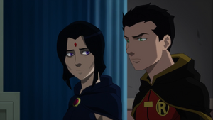 Damian tells Raven the reason real reason why he asked her to lead the League of Assassins with him