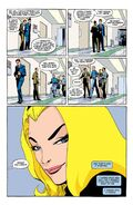 Spider-Man Blue Gwen's stare and Peter the puddle