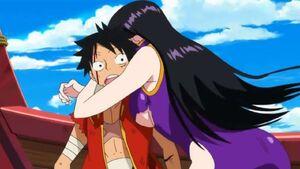 Luffy and Boa