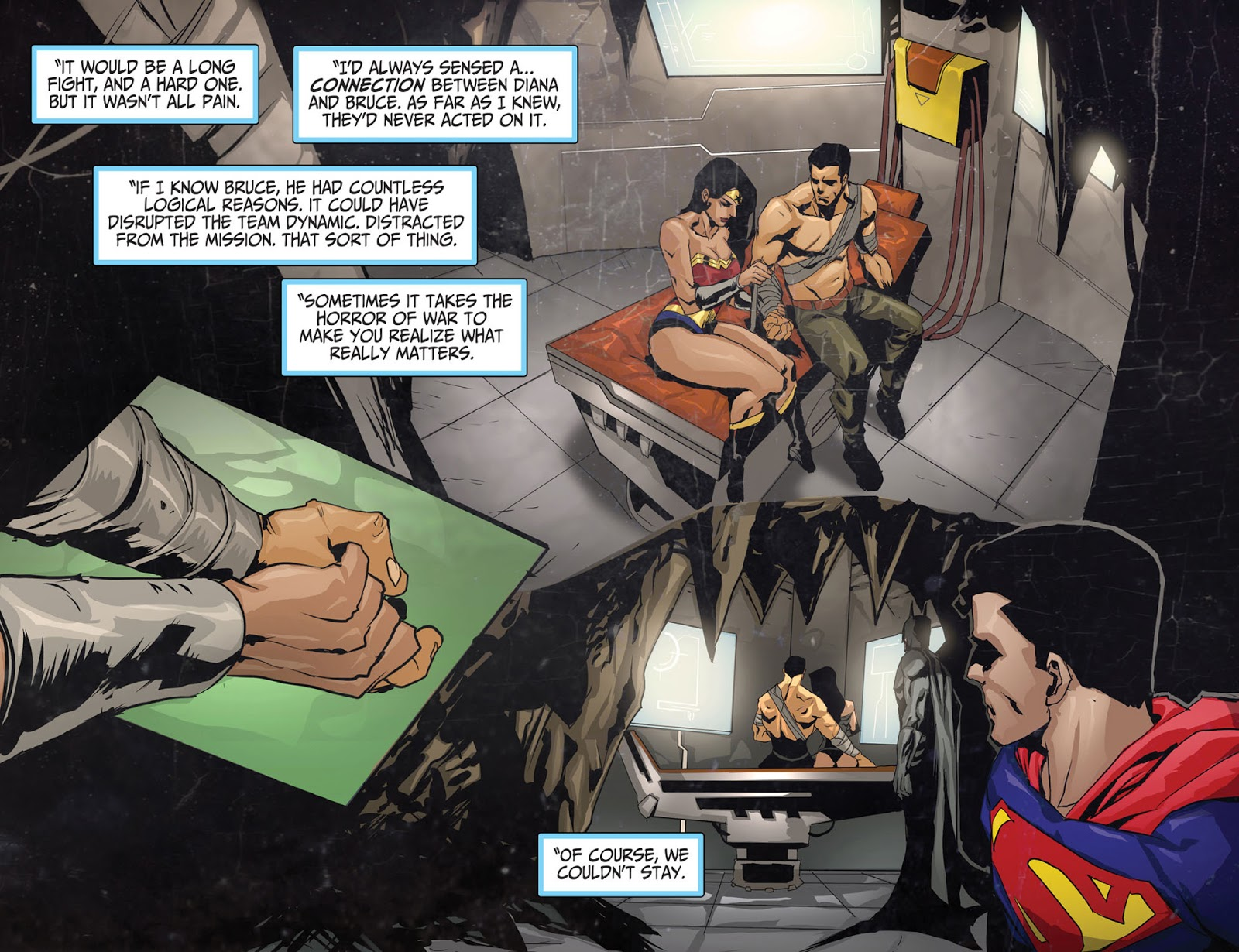 Wonder woman loves batman