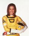 Power Rangers Turbo Yellow Turbo Ranger Ashley Hammond
