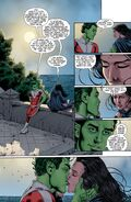 Beast Boy and Raven Kiss, End