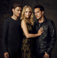 Caroline, Tyler & Klaus Love Triangle