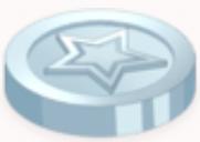 Glittering Star Coin