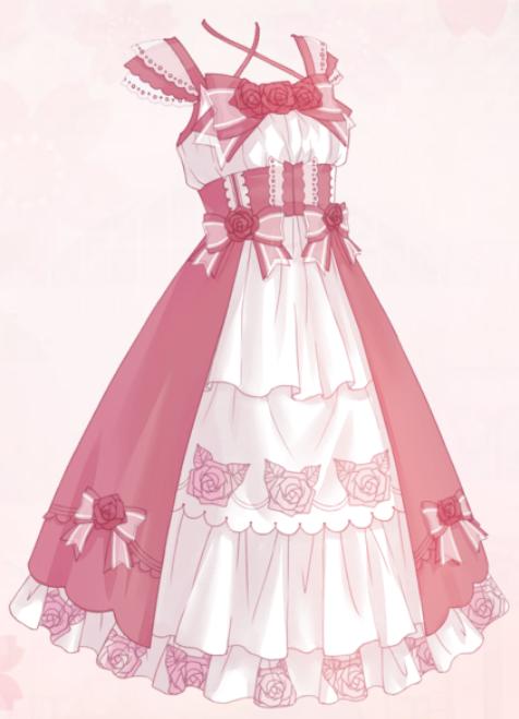 Glossing Rose (Dress)