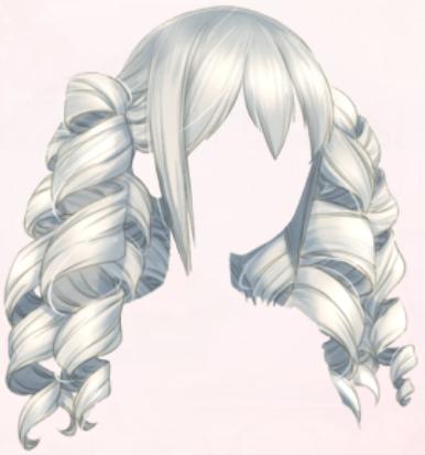 Gothic Lolita (Hair)
