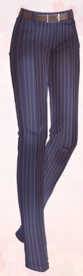 Stripe Gentleman-Pants