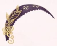 Golden Leaf Hairband