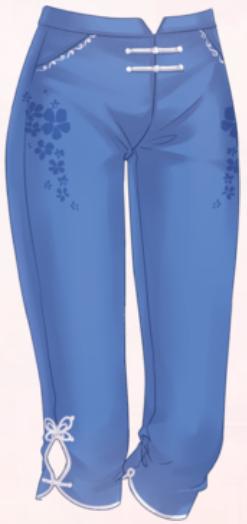 Cloud Pants-Blue