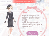 Monthly Sign-In