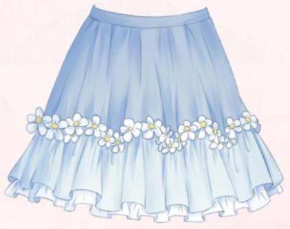 Devout Flower-Skirt
