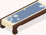 Aqua Sakura Tablecloth