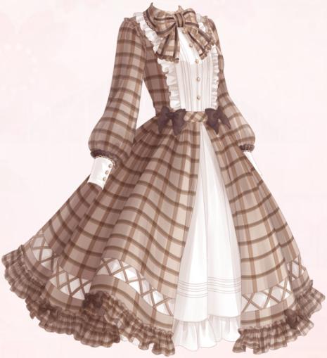 Cream Waffle (Dress)