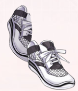 Running Shoes-White