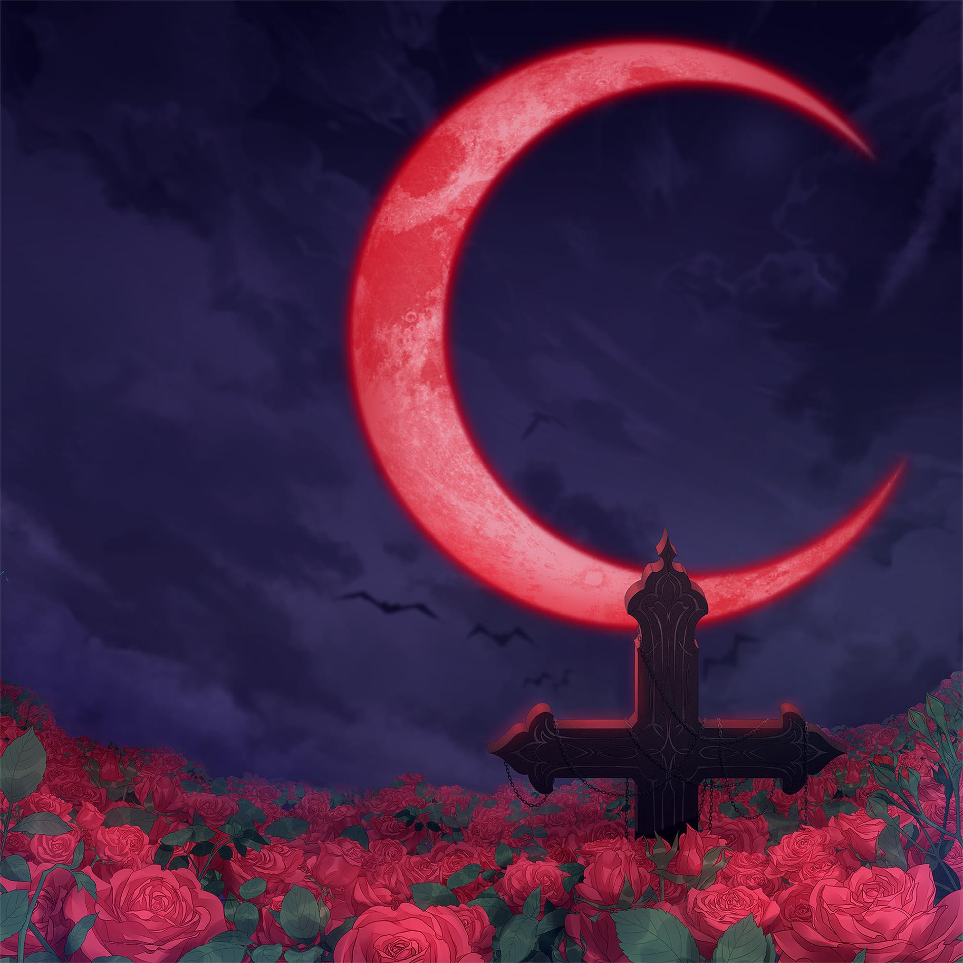 Blood Moon Rose