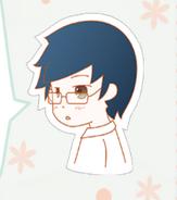 Blue-haired boy in Nikki1 4
