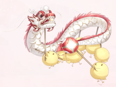 Fish and Dragon Dance