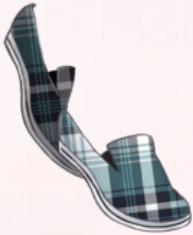 Green Plaid Shoes
