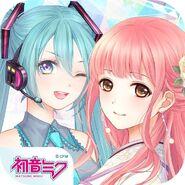 Hatsune Miku and Nikki Event Icon