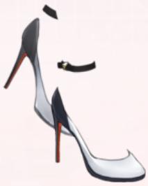 Ankles Allure-White