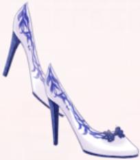 Blue Porcelain-Shoes