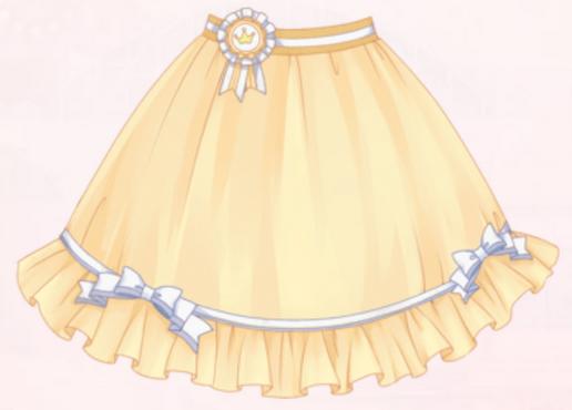 Cicada Skirt-Yellow
