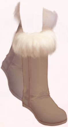 Tall Snow Boots-Brown