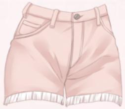 Casual Shorts-Pink