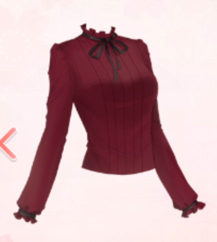 Lady Shirt-Red