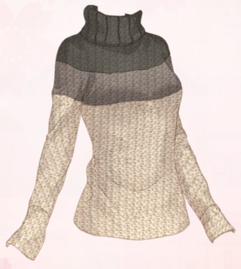 Gradient Colored Sweater