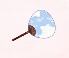 Japanese Fan-Bright Sun