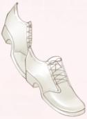 Polite Waiter-Shoes